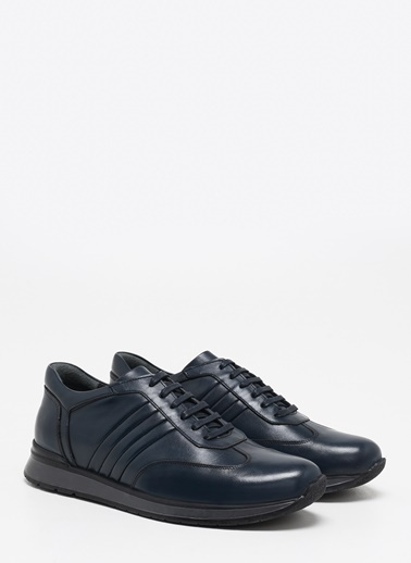 F By Fabrika Erkek Siyah Sneakers EFA Lacivert